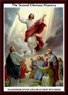 The Ascension of Our Lord Jesus Christ into Heaven