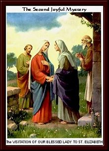 The Visitation of Our Blessed Lady to St. Elizabeth