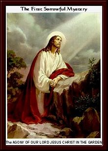 The Agony of Our Lord Jesus in the Garden